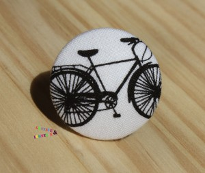 bague bouton vélo